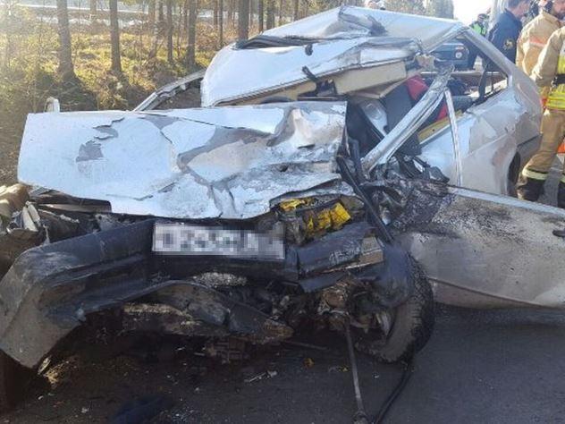 Страшная авария на трассе в Челябинской области
