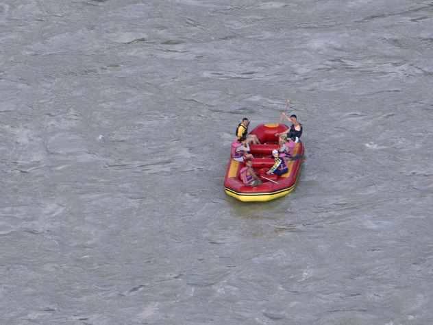 Турист пытался попасть на плоту в Крым