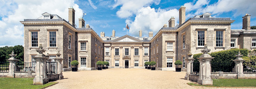 В этом 90-комнатном дворце графов Спенсеров прошло детство принцессы Дианы, а теперь в нём живёт отец Китти