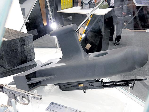 Подводный дрон и подводный пистолет