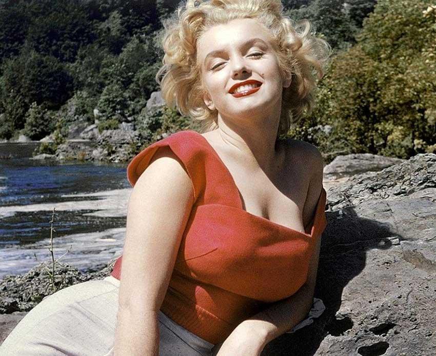 Мэрилин Монро в фильме «Ниагара», 1953 год.