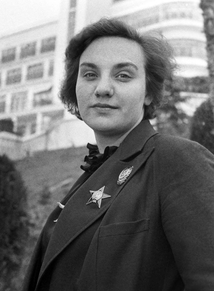 Валентина Гризодубова. Фото: Ю.Хельмер/ИТАР-ТАСС