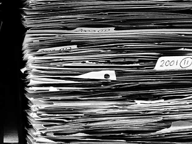 На помойке в уральском городе были найдены секретные документы из местного отделения полиции