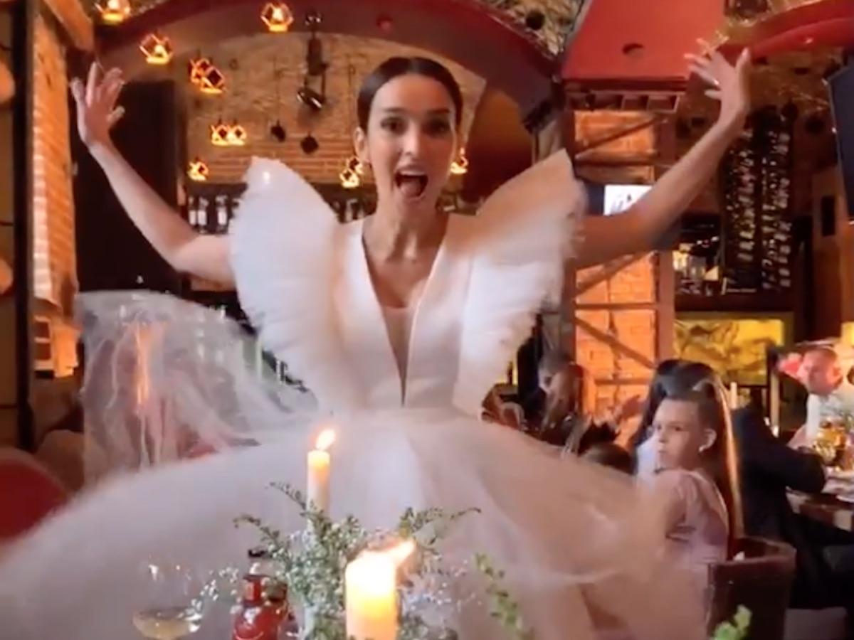Свадьба Юлии Зиминой
