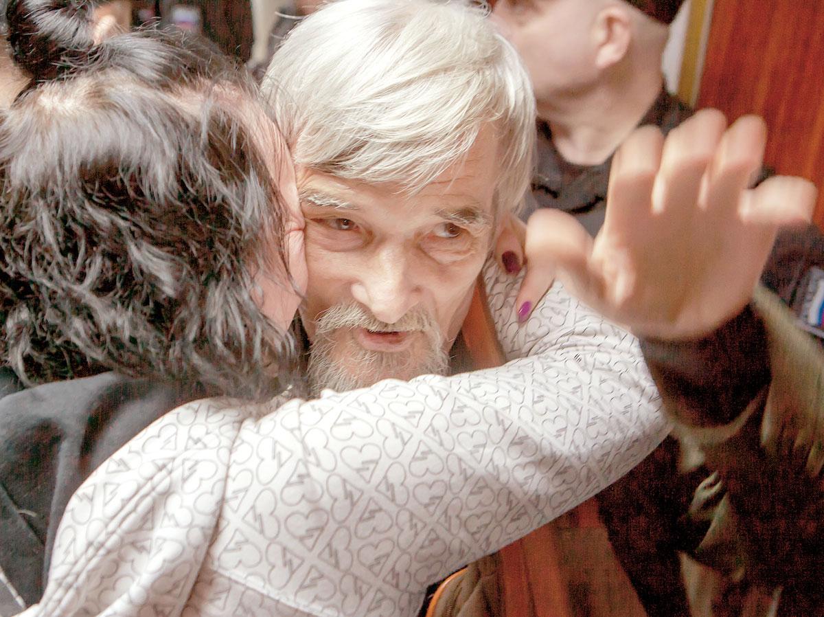 Юрий Дмитриев после оправдания. Рано радовался...