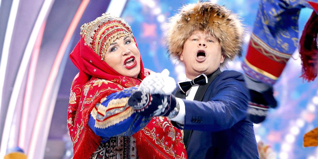 Надежда Бабкина и Дмитрий Губерниев